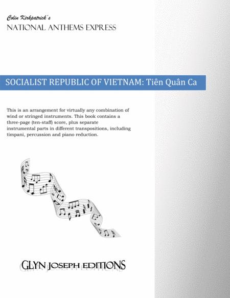 Republic of Vietnam National Anthem: Tiên Quân Ca