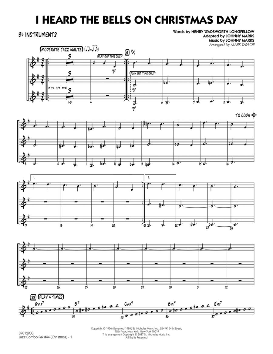 Jazz Combo Pak #44 (Christmas) - Bb Instruments