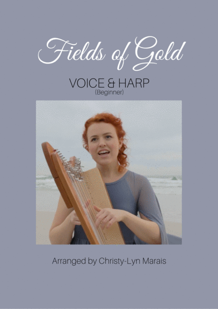 Fields Of Gold (Harp & Voice) Easy