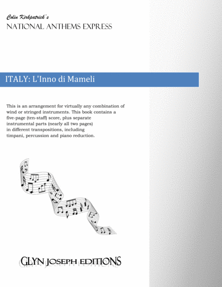 Italy National Anthem: L'Inno di Mameli