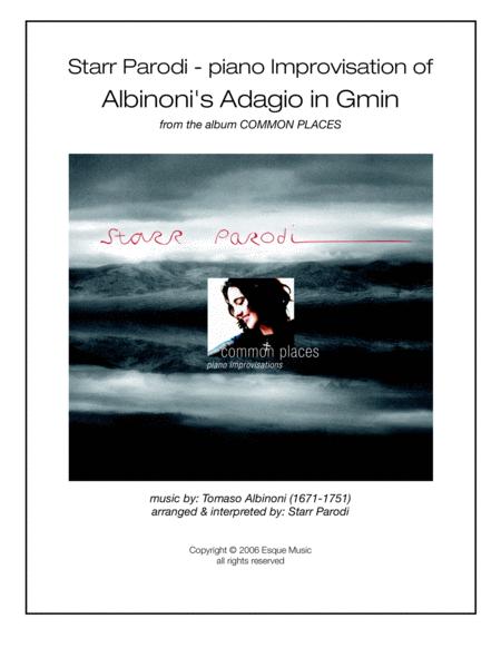 Starr Parodi - piano Improvisation of Albinoni's Adagio in Gmin