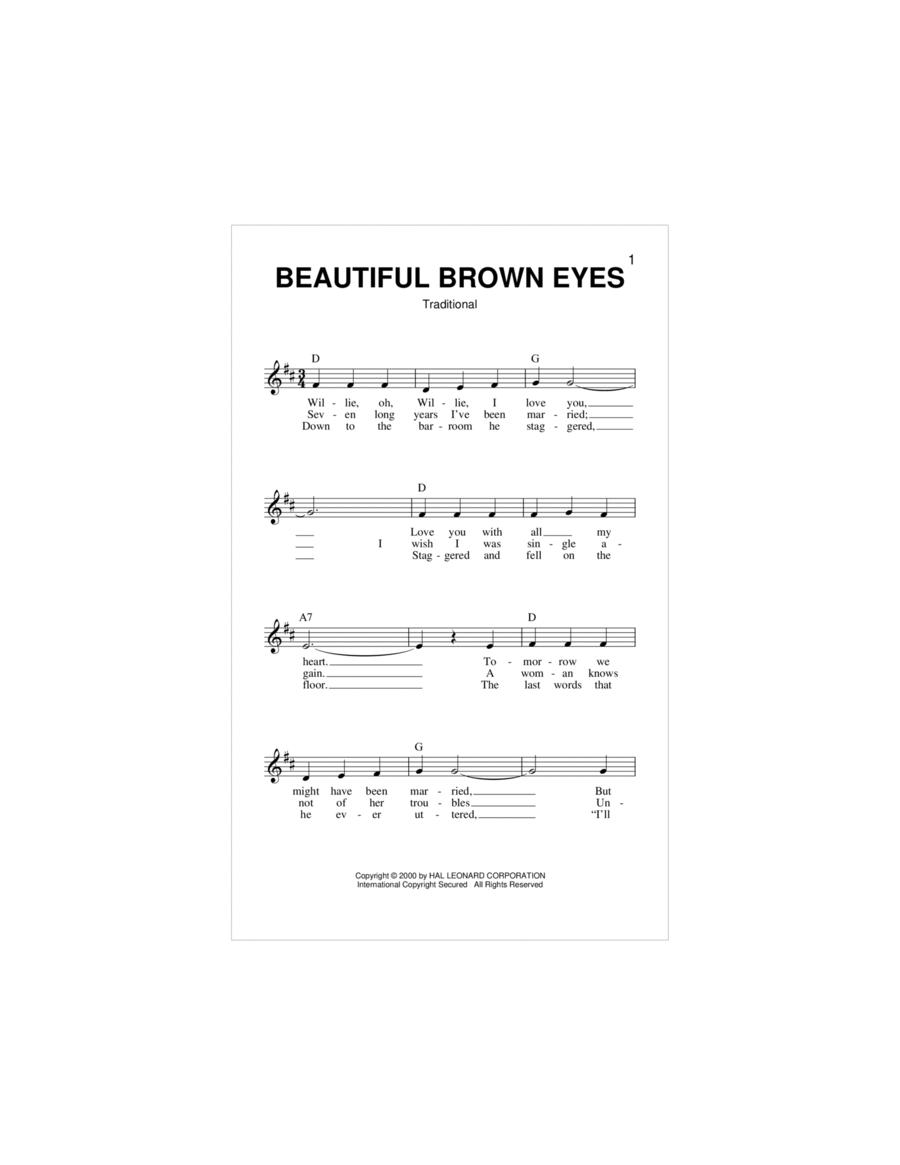 Beautiful Brown Eyes