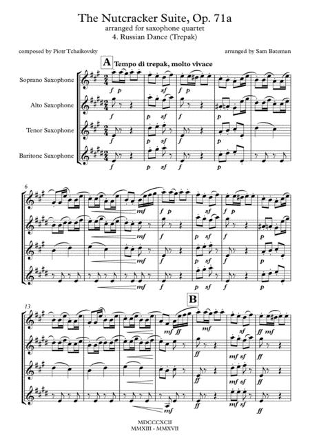 The Nutcracker Suite - 4. Russian Dance (Trepak)