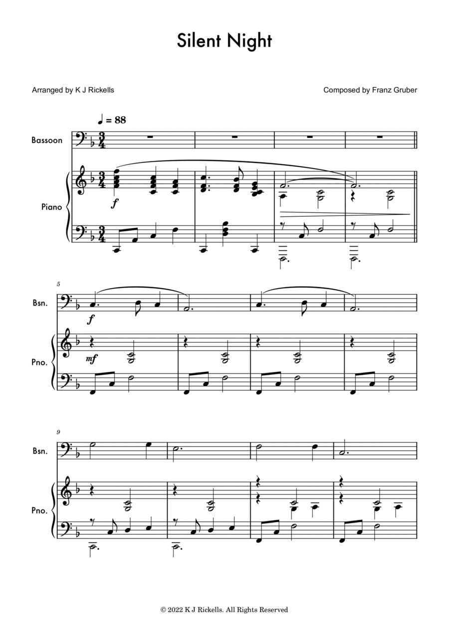 Silent Night - Bassoon solo
