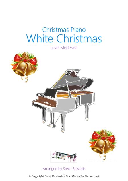 White Christmas - Piano Solo - Moderate