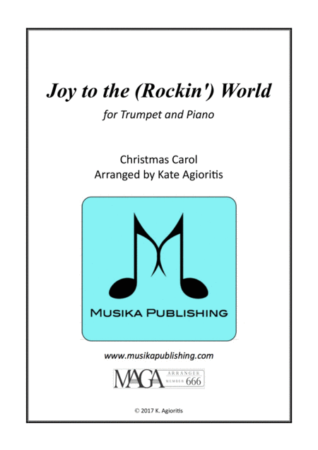 Joy to the (Rockin') World - Trumpet and PIano