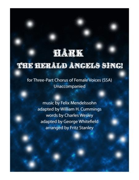 Hark! The Herald Angels Sing - SSA A Cappella
