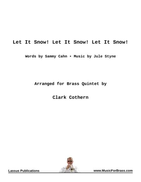 Let It Snow for Brass Quintet