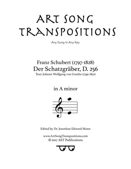 Der Schatzgräber, D. 256 (A minor)