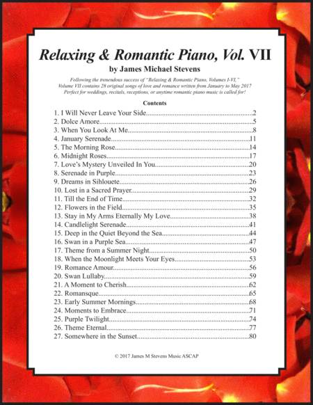 Relaxing & Romantic Piano, Vol. VII