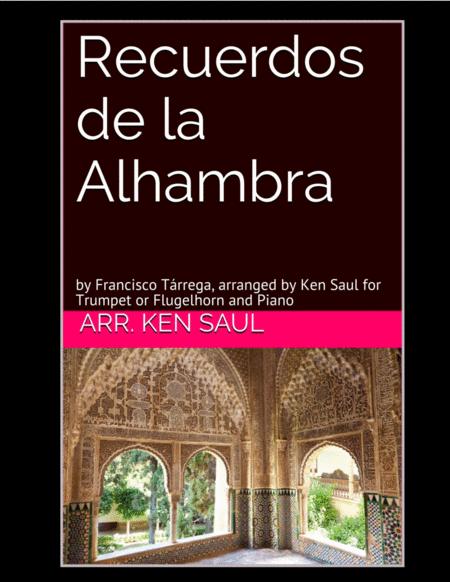 Recuerdos de la Alhambra for Trumpet and Piano