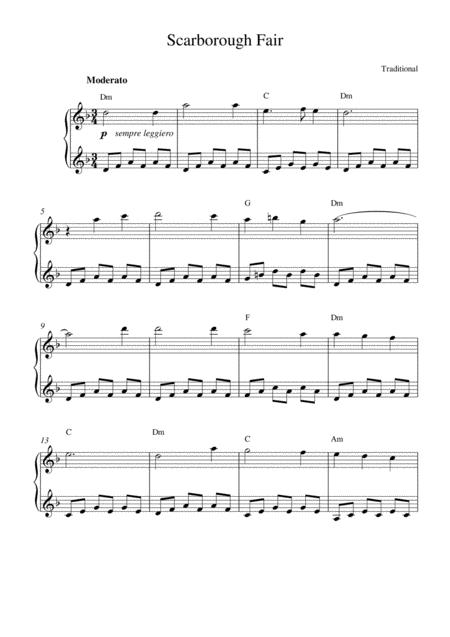 Scarborough Fair (music box version)