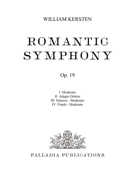 Romantic Symphony Full Score