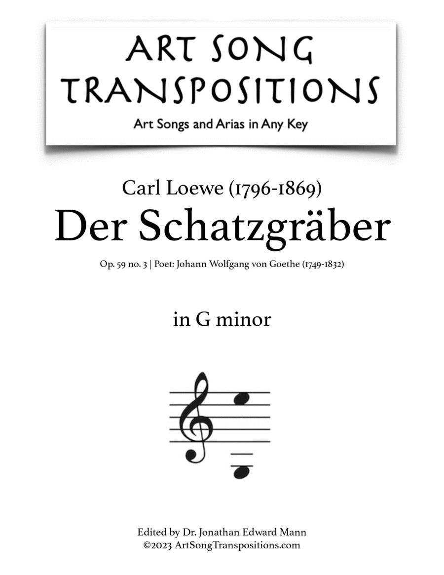 Der Schatzgräber, Op. 59 no. 3 (B minor)