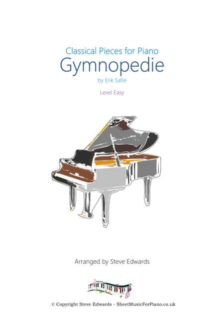 Gymnopedie for Easy Piano Solo