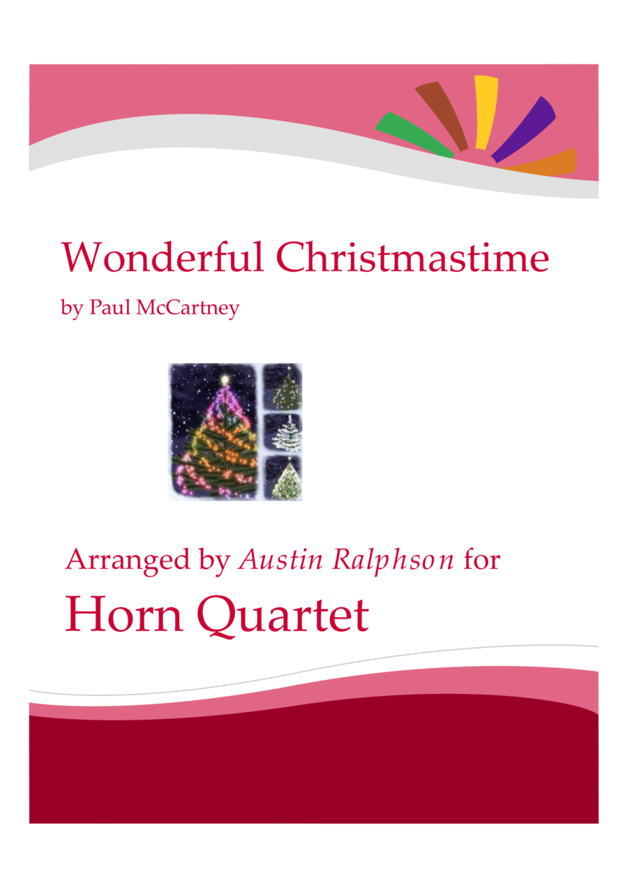 Wonderful Christmastime - horn quartet