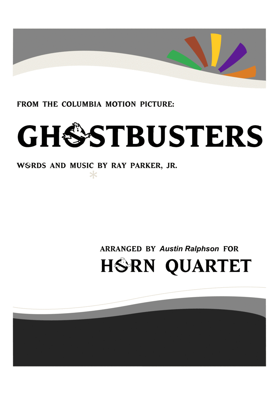 Ghostbusters - horn quartet