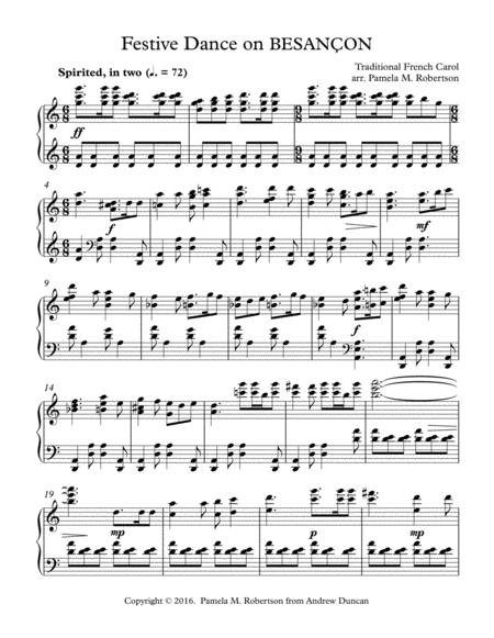 Festive Dance on BESANCON (People Look East) - Piano Solo