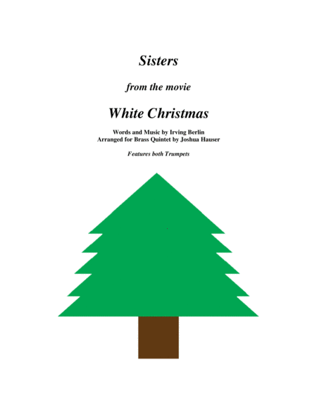 Sisters from the movie White Christmas - Brass Quintet
