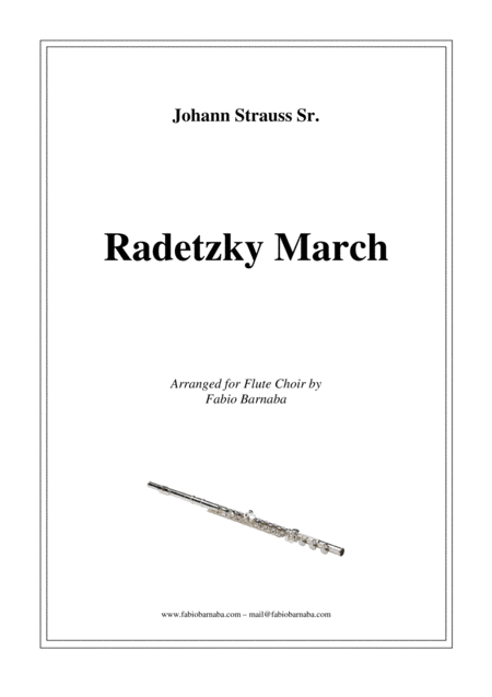 Radetzky March - for Flute Choir