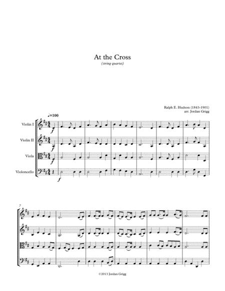 At the Cross (string quartet)