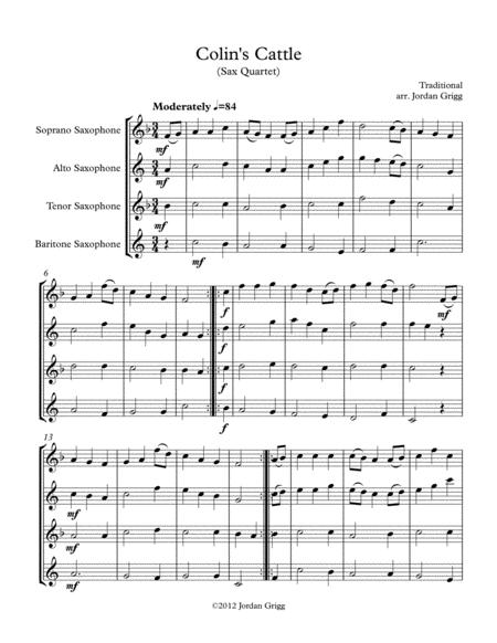Colin's Cattle (Sax Quartet)