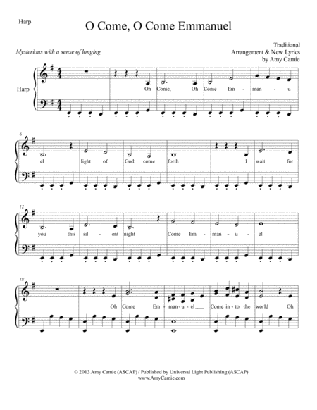 O Come, O Come Emmanuel (with lyrics)