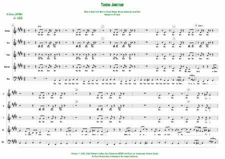Tuxedo Junction - A Cappella (SATBB)