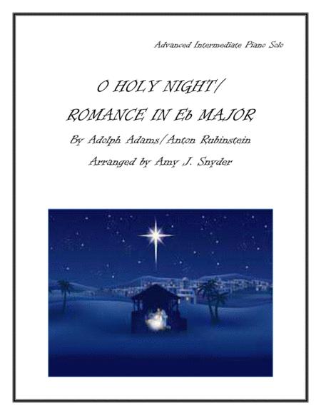 O Holy Night/Romance in Eb Major, piano solo