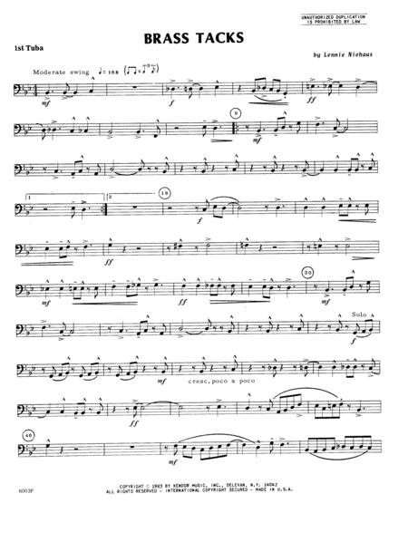 Brass Tacks - Tuba 1