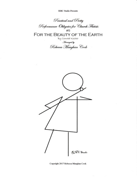Practical and Pretty Performance Obligatos for Church Flutists:  #5  For the Beauty of the Earth
