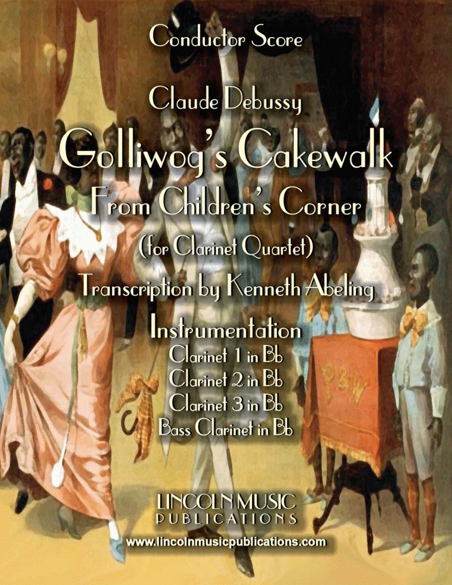 Debussy – Golliwog's Cakewalk from Children's Corner (for Clarinet Quartet)