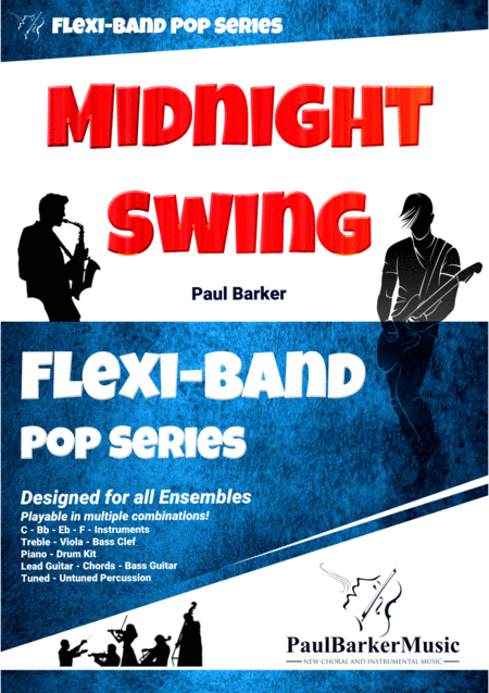 Midnight Swing (Flexi-Band Score & Parts)