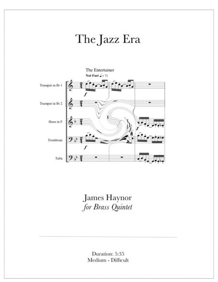 The Jazz Era for Brass Quintet