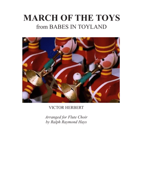 March of the Toys (for flute choir)