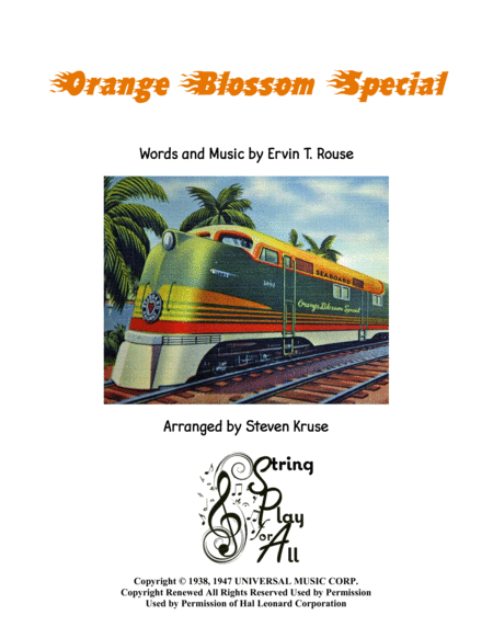 Orange Blossom Special for Two Violins