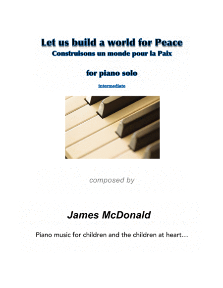 Let us build a world for Peace