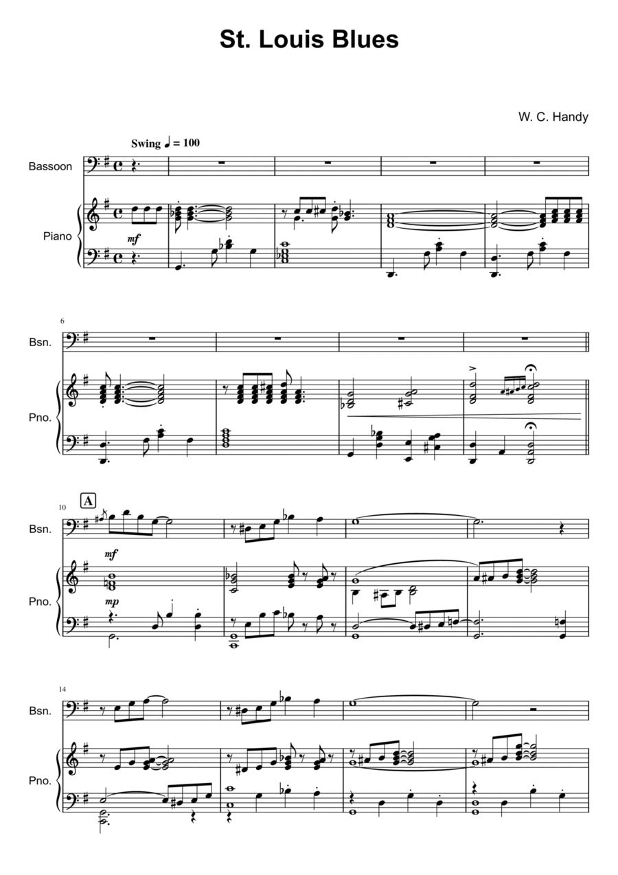 St. Louis Blues - Bassoon Solo