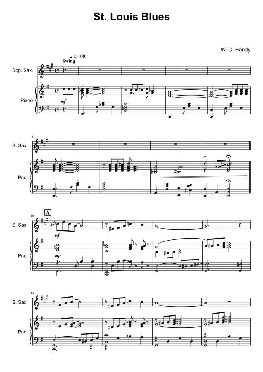 St. Louis Blues - Soprano Saxophone