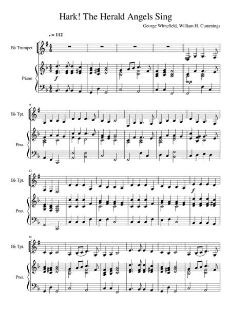 Hark! The Herald Angels Sing - Trumpet Solo