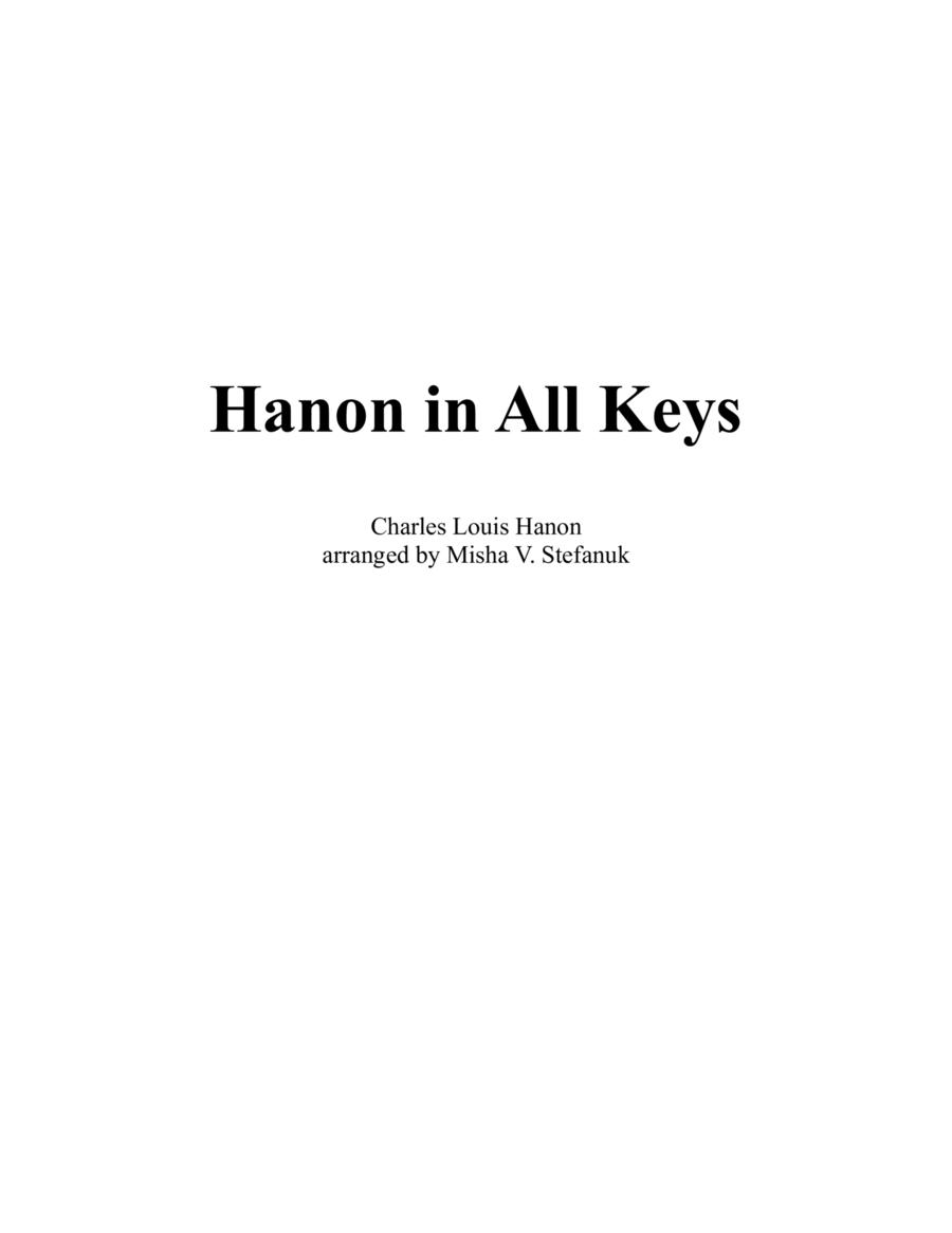 Hanon in All Keys