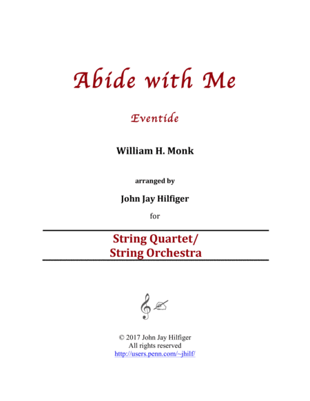 Abide with Me (Strings)