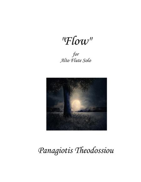 Flow, for alto flute solo