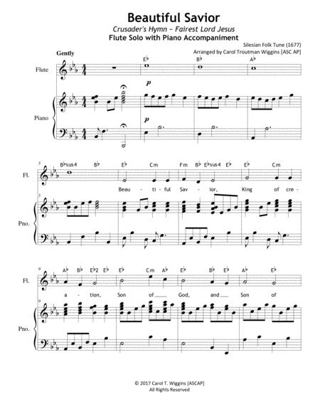Beautiful Savior (Flute & Piano Duet)