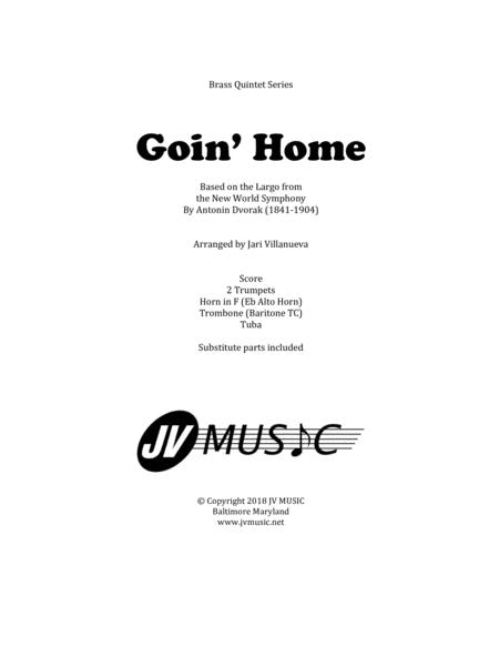 Goin' Home For Brass Quintet