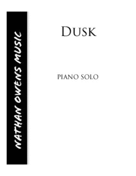 Dusk - piano