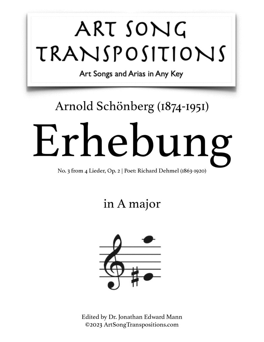 Erhebung, Op. 2 no. 3 (G major)