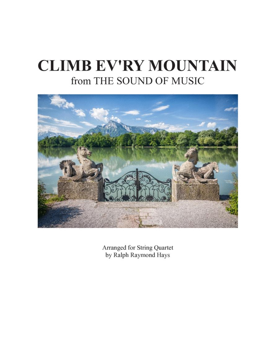 Climb Ev'ry Mountain (for string quartet)