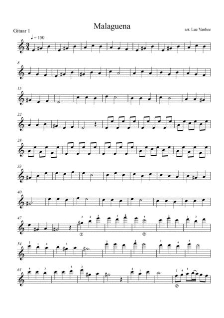 Malaguena guitar 1