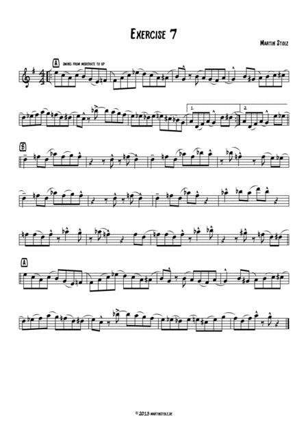 Jazz Exercise 7 Flute